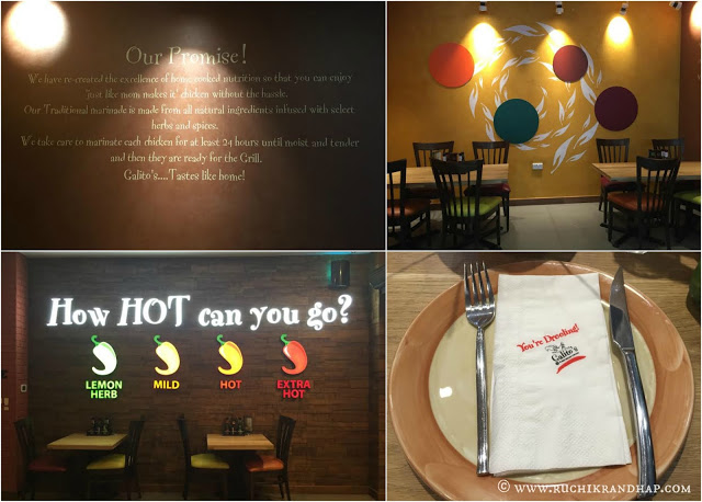 Restaurant Review ~ Galito's, Bay Square, Dubai (UAE)