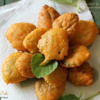 Sambarballi Podi | Doddapatre Baje ~ Indian Borage/Cuban Oregano Fritters