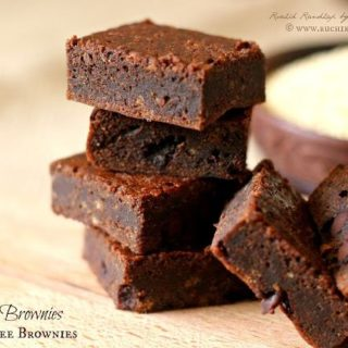 Quinoa Brownies ~ Gluten Free Brownies