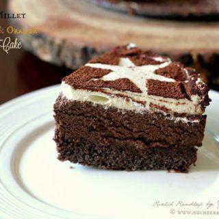 Foxtail Millet, Chocolate & Orange Mousse Cake ~ Gluten Free Recipe