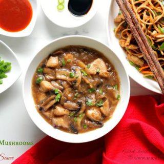 Chicken & Mushrooms in Soy Sauce