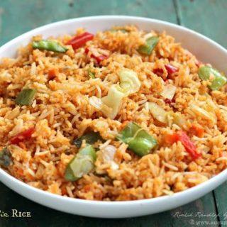 Chilli Garlic Rice