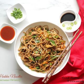 Vegetable Hakka Noodles (With Non Vegetarian Options)