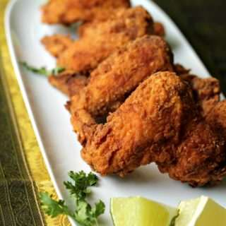 Crispy Chicken Wings ~ Indian Style