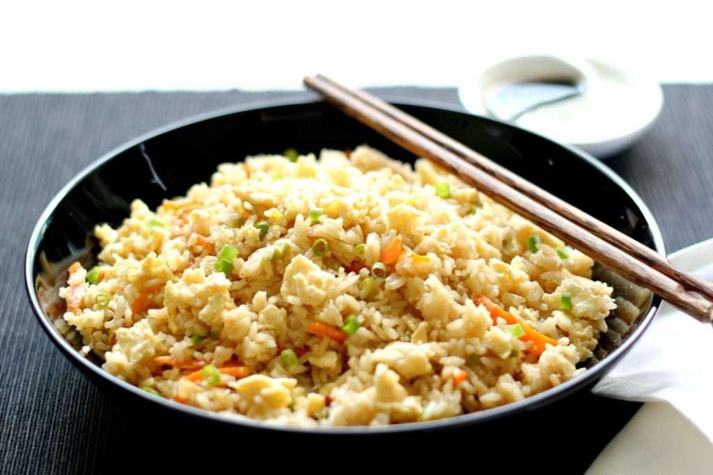 Egg fried rice easy one pot meal ruchik randhap egg fried rice easy one pot meal ccuart Choice Image