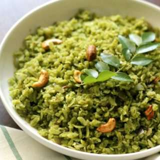Green Masala Poha