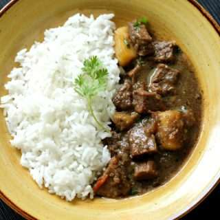 Meat Black Pepper Curry