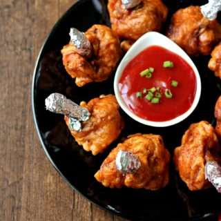 Chicken Lollipops ~ Indo-Chinese Style