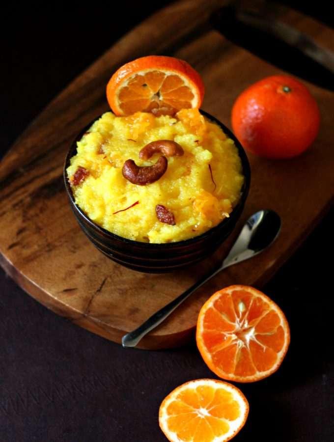 Orange Saffron Sheera
