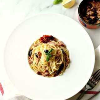 Tuna & Lemon Spaghetti
