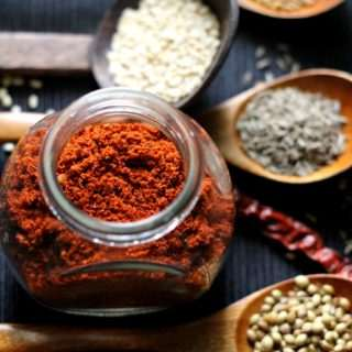Huli Pudi ~ South Indian Curry Powder for Sambar