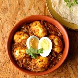 Mutta Masala ~ Kerala Style Egg Masala