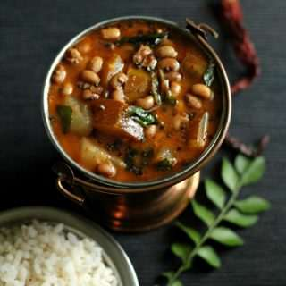 Southekayi Huli ~ Mangalorean Field Marrow Sambar