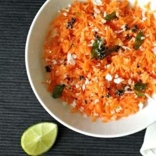 Carrot Kosambari