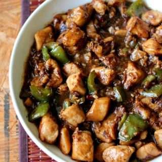 Garlic & Capsicum Chicken