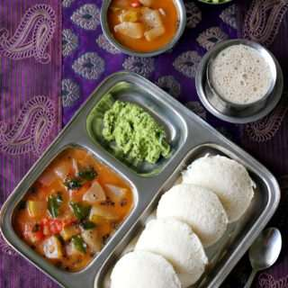 Rava Idli (Using Idli Rava/Rice Rava)