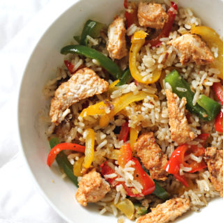 Chicken & Bell Pepper Rice