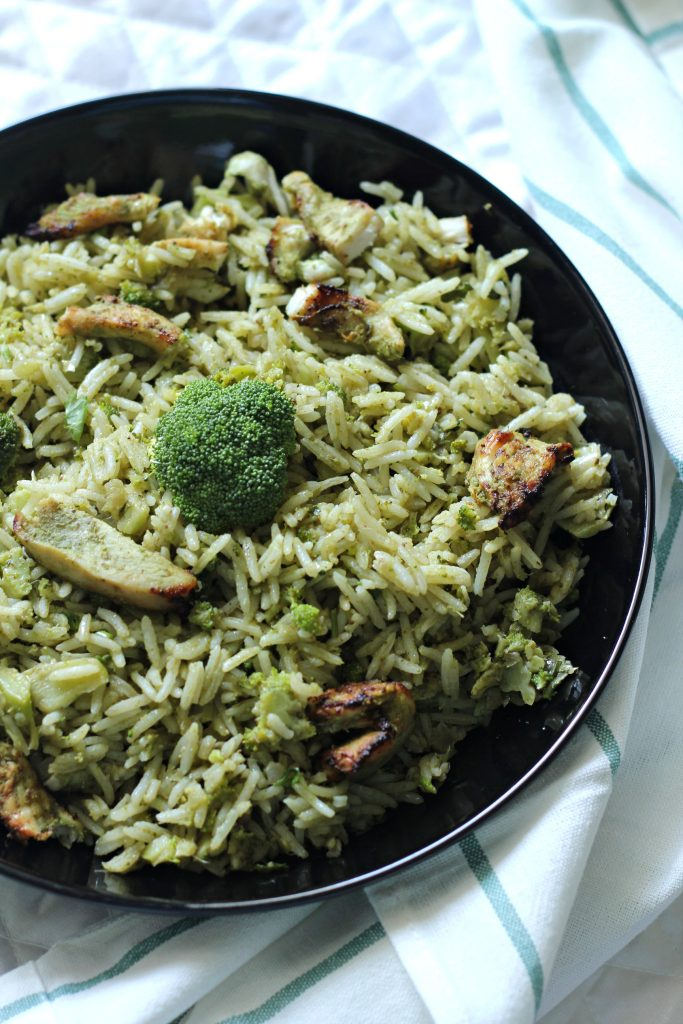 Broccoli & Chicken Rice