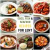 Egg, Fish & Seafood Recipes for Lent