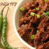 Beef Chilli Fry