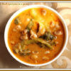 Randhaichi Kadi - Valchebaji Ani Guley (Vegetable Gravy with Spinach & Black Eyed Peas)