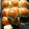 Pao (Pav) ~ Dinner Rolls (with Eggless option)
