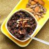 Chocolate Sheera - Semolina Pudding Using Condensed Milk